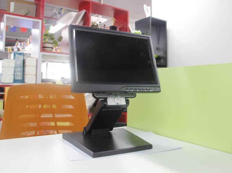 Hot selling 1280x800 ips screen pcap usb touch screen monitor 10 inch with wall mount stand