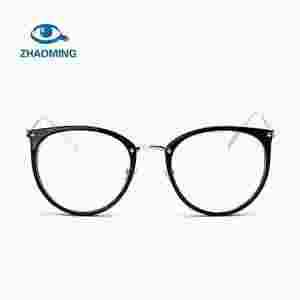 10611b91fd ZHAOMING Clear Lens Cat Eye Glasses Frame Women Fashion Oversized Spectacle  Frames Transparent Optical Eyeglasses Clear Eyeglass