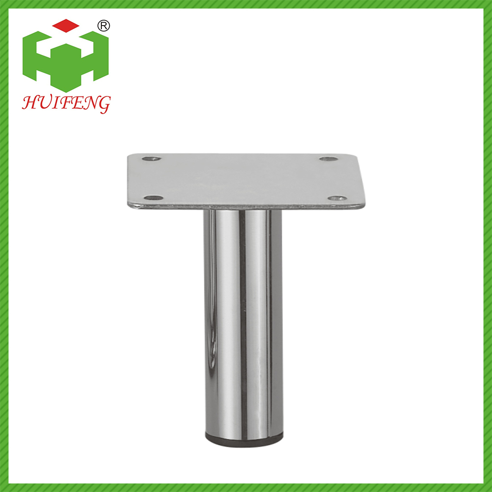 Sofa square steel metal support replacement connector leg