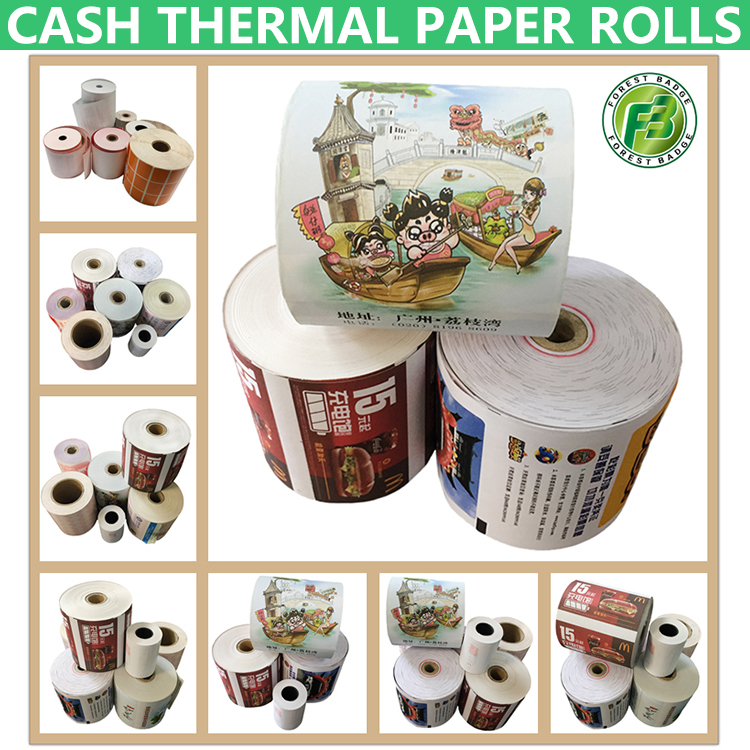 Cheap Thermal Paper Roll Suppliers Wholesale 57x50mm Cash Receipt Paper
