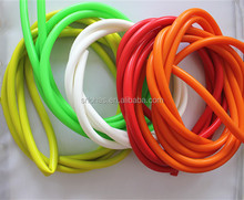 soft custom medical/ industrial thin transparent silicone rubber clear tube/hose/cord