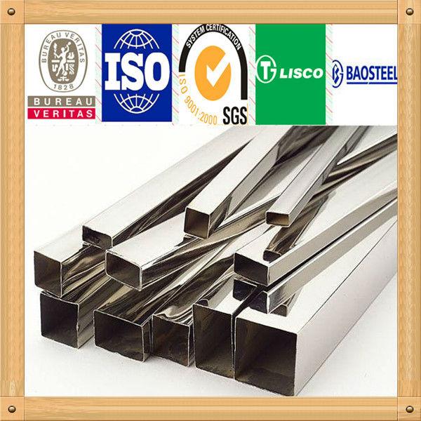 S43940 precio tubo cuadrado de acero inoxidable tuber as - Tubo cuadrado acero ...