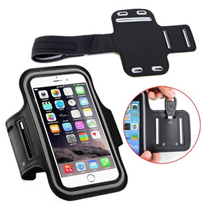JESOY Universal Running Sports Armband Mobile Phone Bag Case Arm Band Waterproof Armband Case for iPhone 6 7 8 x