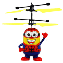 Wholesale 2017 Hottest Christmas Gift Flying Minion Flying Toy 5 color available