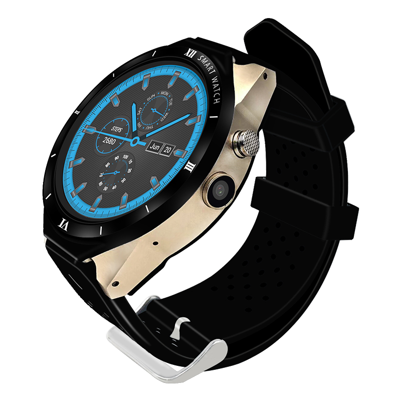 Men kw88 pro 1.39 inch amoled round screen MTK6580 android smart watch фото