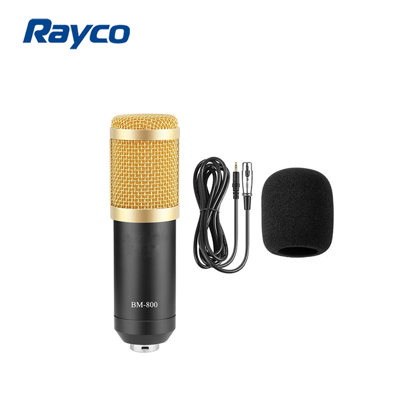 Alibaba.com / Hot Selling BM800 Professional Studio Broadcasting Recording Condenser Microphone