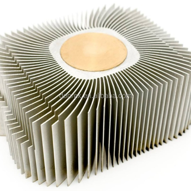 25mm*8mm*400mm Electric Equipment Extrusion Aluminum Board Level heat sink