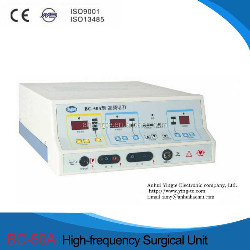 Seven working mode surgical electrocautery pencil machine