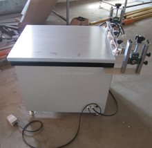Factory supply manual precision vacuum table screen printer for plywood