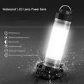Tent Camping Light Led Diving Light USB Powerbank Charger 2600mAh Outdoor Flashlights Waterproof Lifesaving Emergency Torches