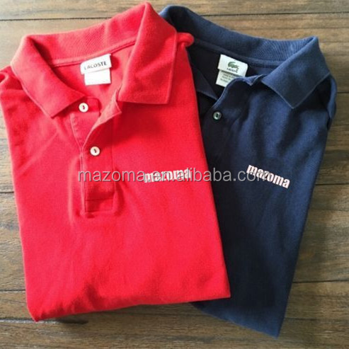 Custom sport golf mannen korte mouwen cotton polo