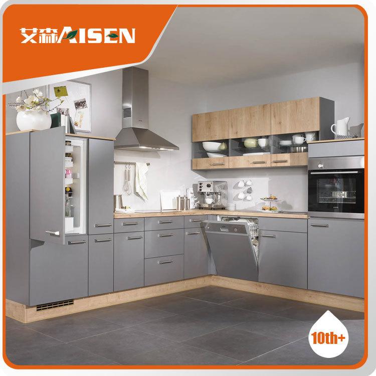 Gris moderno dise o extractor mueble cocina de dise o cocinas identificaci n del producto - Extractor cocina barato ...