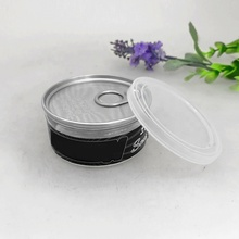 100ml tuna food can with easy open tin lid