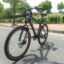 2015 New design hidden battery electric mountain bike