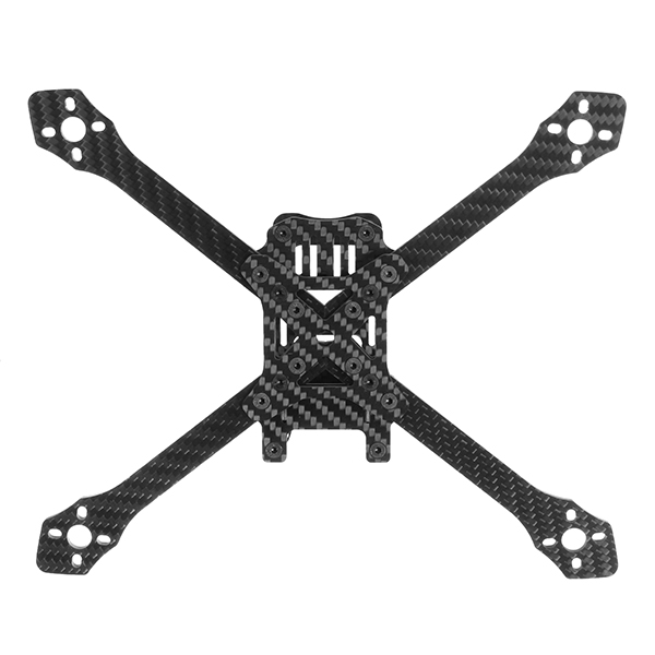 Angle220S 220mm Carbon Fiber True X Stretch X Adjustable Frame Kit 4mm Arm for RC Drone FPV Racing
