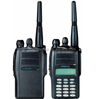 Handheld Radio For Motorola Gp328 Plus Portable Vhf Long