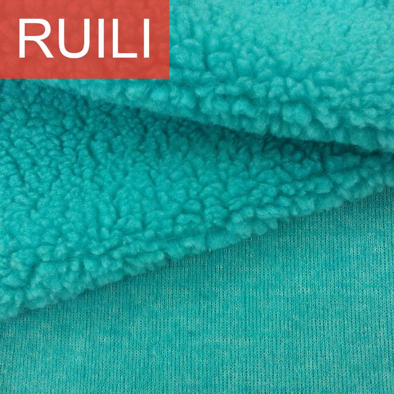 Faux Sheepskin Sherpa Fleece Fabric for Coat Jacket Shoe Lining By Meter