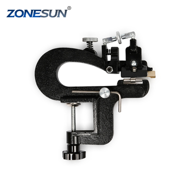 ZONESUN Manual ER809G Leather splitter leather cutting machine max 35mm width supply