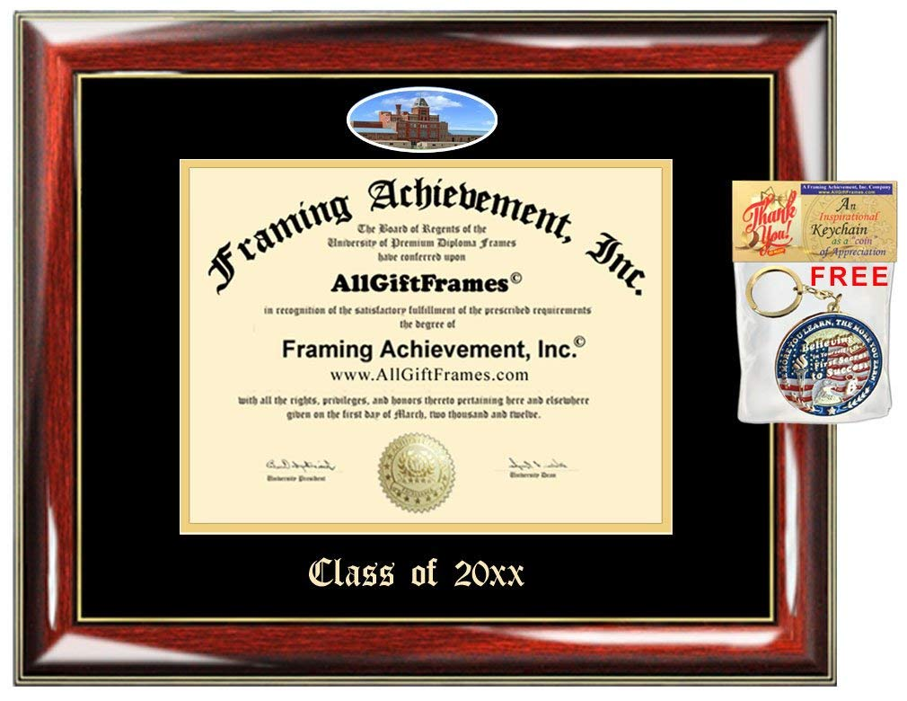AllGiftFrames Custom Diploma Frame Embossed University of Colorado Denver College Best Graduation Degree Frame Double Mat Campus Fisheye Picture Frame Cheap UC Denver Gift
