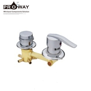 Fancy 2/3/4/5ways Shower Room Brass Ware Faucet Exposed Sliding Shower Bar Wall Faucet
