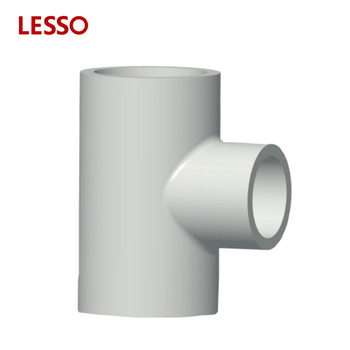 Lesso Din Standard Upvc Pipe Fittings Reducing Tee High Pressure Y Pipe  Fitting Tee - Buy Standard Reducing Tee Sizes,High Pressure Y Pipe Fitting