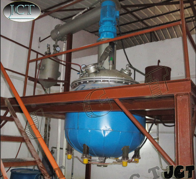 Factory Supplying Resins Paint Stainless Steel Reaction Kettle For Sale