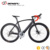 DENGFU Hot sale max tire 35C complete carbon road bike frame disc brake 22 speed ud matt FM099