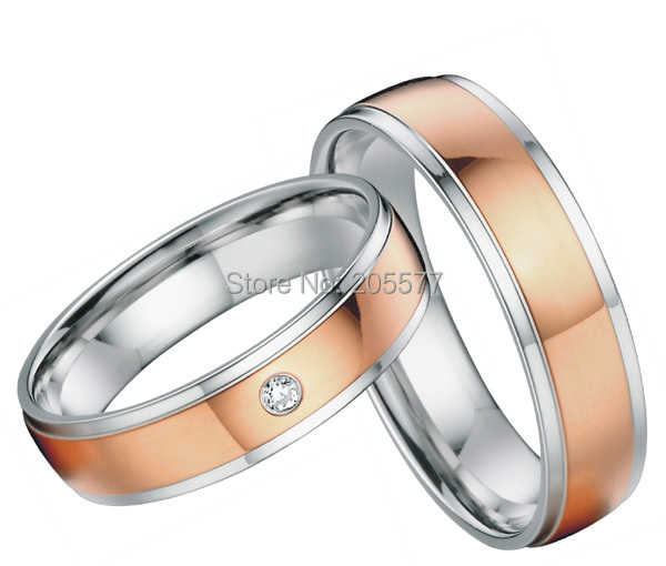 Gnzoe Rose Gold Rings Women Wedding Bands Cupids Heart Rose Gold US Size 6.5