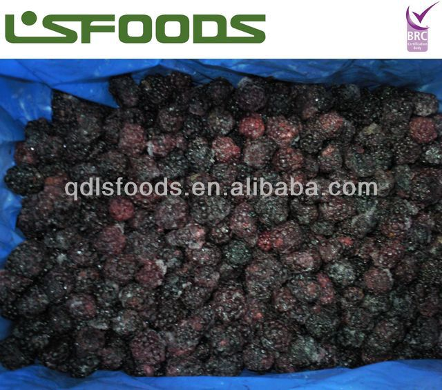 IQF frozen blackberry concentrate juice use