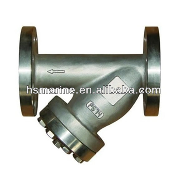DN50 Stainless Steel Valve Y Type Filter