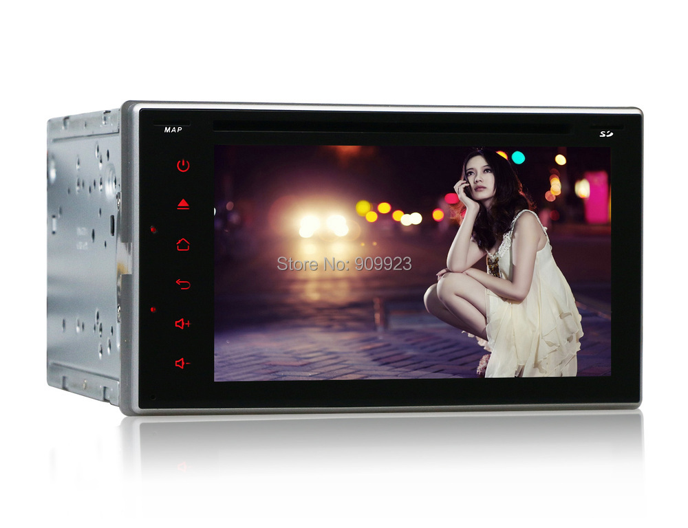 2 Din 6.2 INCH Android 4.4 3G HOST+WIFI+Car Dvd Player Pc Universal Radio