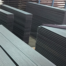 Composite Carbonized waterp-roof Outdoor Strand Woven Black color Bamboo Floor