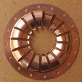 EMI contact rings. offers a wide choice in requirements microwave cavities.turning and grounding