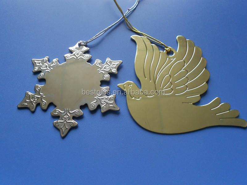 de metal de navidad rbol de navidad colgando adornos comercio al por mayor