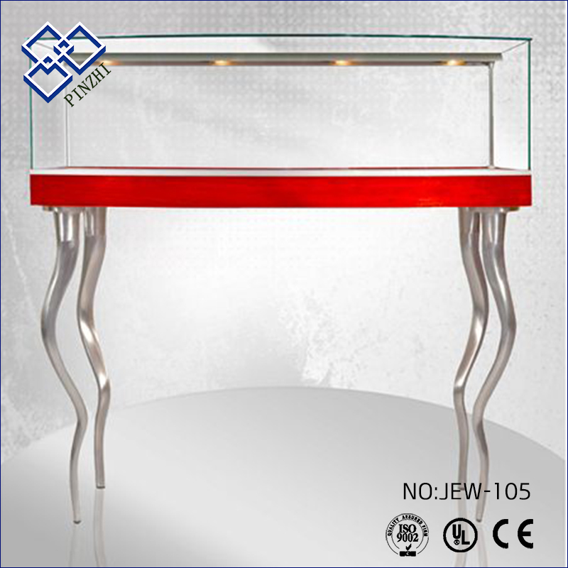 Professional Cabinet Furniture Jewelry Display Table With