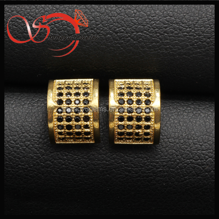 CZ Earrings Setting stainless steel tactile studs for Ear Piercing