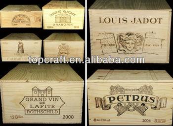 ingrosso 2013 casse di legno per vino - buy casse di legno,economici