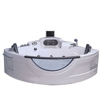 Chinese leading factory low wholesale whirlpool acrylic bathtub massage