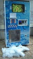 24 hours self service auto ice vending station