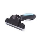 Hair Removal Brush Comb for Cats Dog Deshedding Slicker Trimming Pet Fur Scraper Thinning Grooming Tools Stainless Steel Blade
