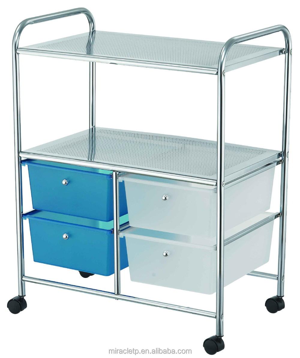 gavetas plastico pp organizador de almacenamiento muebles carrito