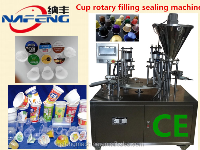 Nespresso K-cup Espresso Caffitaly System Coffee Capsule Packing Machine Coffee Capsule Making Machine