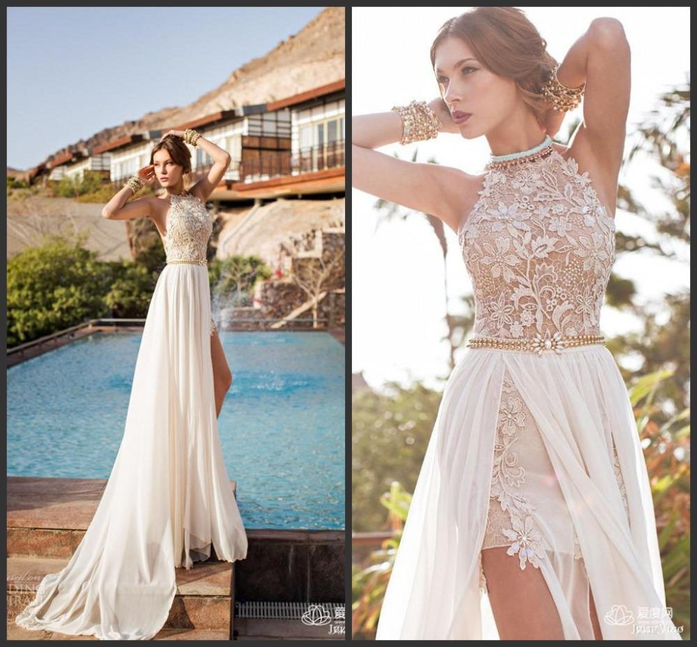 Best Wedding Gown 2015: 2015 Julie Vino Summer Beach Wedding Dress Halter Backless