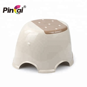 Elegant Multi-specification Durable and Strong Colorful Stackable Elephant Plastic Stool
