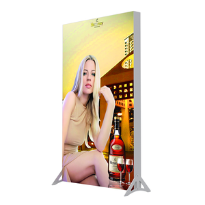 banner stand advertising light box 2 sides for exhibition booth trade show
