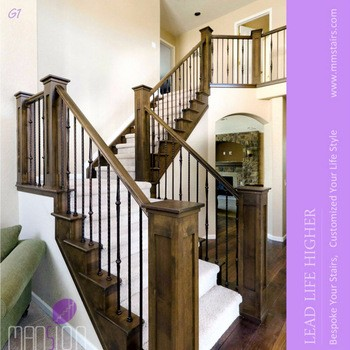 interior wrought iron spindles wooden handrail stair railings buy stair iron stair stair railings product on alibabacom