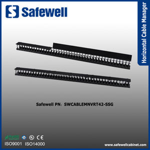 Safewell High-capacity Vertical Cable Management for SSG Server Rack -42U