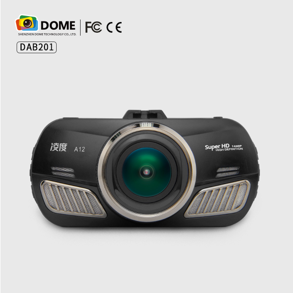 "DOME DAB201 Ambarella A12 Car DVR Auto DVR 2.7"" Full HD Car Video Recorder 1440P Vehicle Camera"