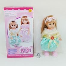 TOYZ 14 inch sound control walking girl doll toys with 3 musics