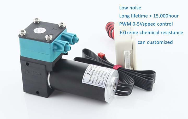 Micro liquid pump / diaphragm vacuum pump (DC brushless motor)